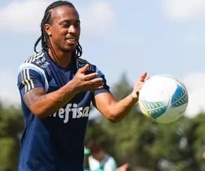 Arouca Treino do Palmeiras (Foto: Anderson Rodrigues / Agência Estado)