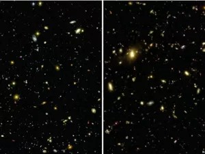 Imagem mostra explosões que geraram planetas e estrelas, 4 bilhões de anos após o Big Bang (Foto: Illustris Collaboration/BBC)