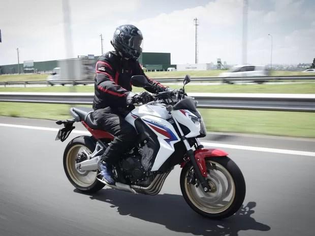 Honda CB 650F (Foto: Caio Kenji/G1)