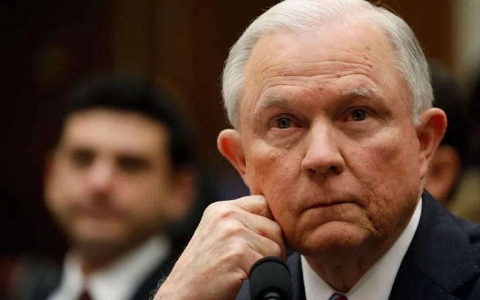 O procurador-geral dos EUA, Jeff Sessions (Foto: Reuters/Aaron P. Bernstein)
