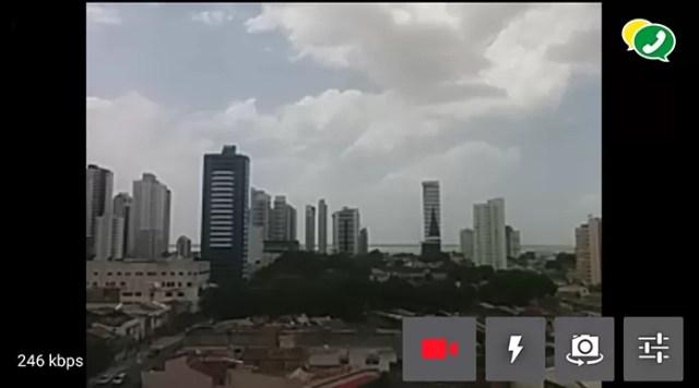 ZapZap permite transmitir vídeo ao vivo (Foto: Reprodução/Paulo Alves)