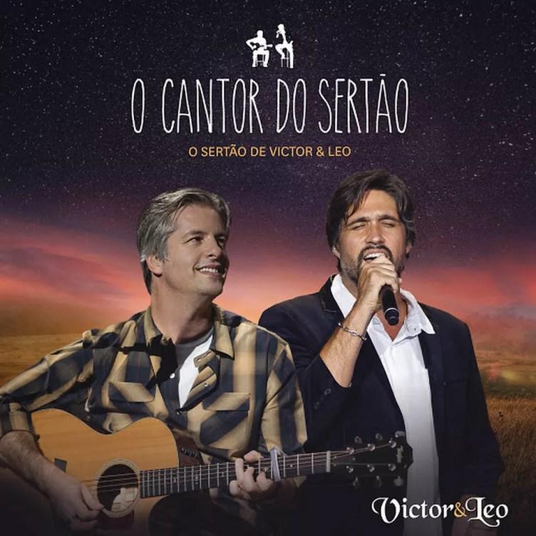 Capa do álbum 'O cantor do sertão', de Victor & Leo (Foto: Divulgação / Som Livre)