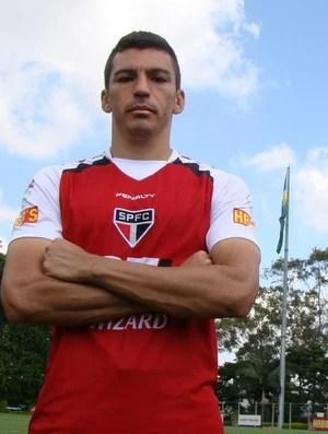 Lúcio São Paulo (Foto: Site oficial do São Paulo / Divulgação)