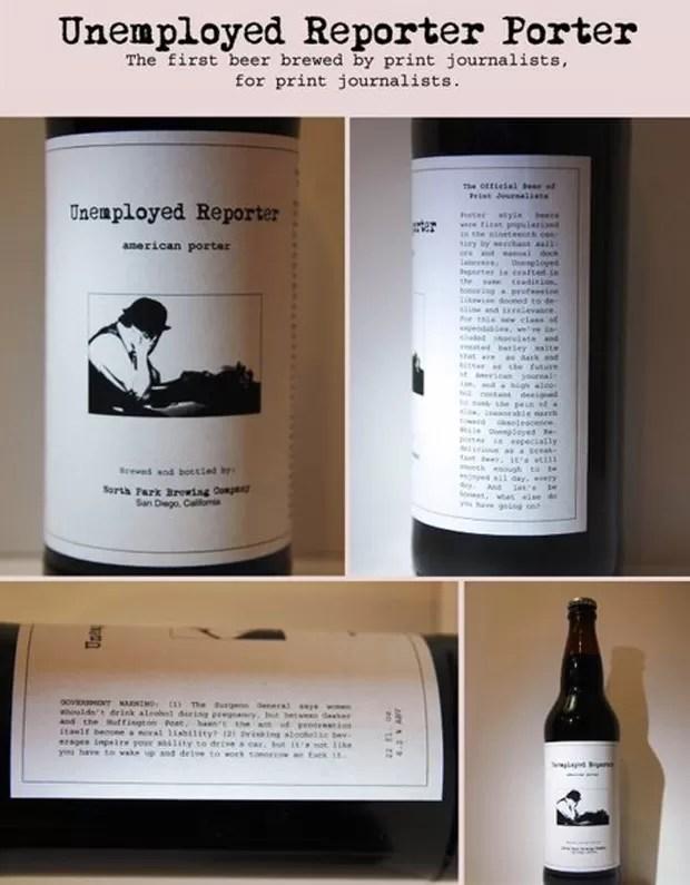 Bebida é descrita como tão 'escura e amarga' quanto o futuro do jornalismo (Foto: Reprodução)