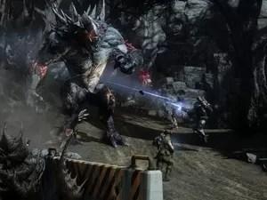 Cena de 'Evolve', que chega em outubro (Foto: Divulgação/2K Games)