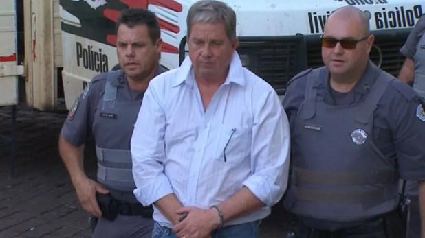 Alexandre Titoto foi condenado a 25 anos de prisão por morte de bancário em Ribeirão Preto (Foto: Reprodução/EPTV)