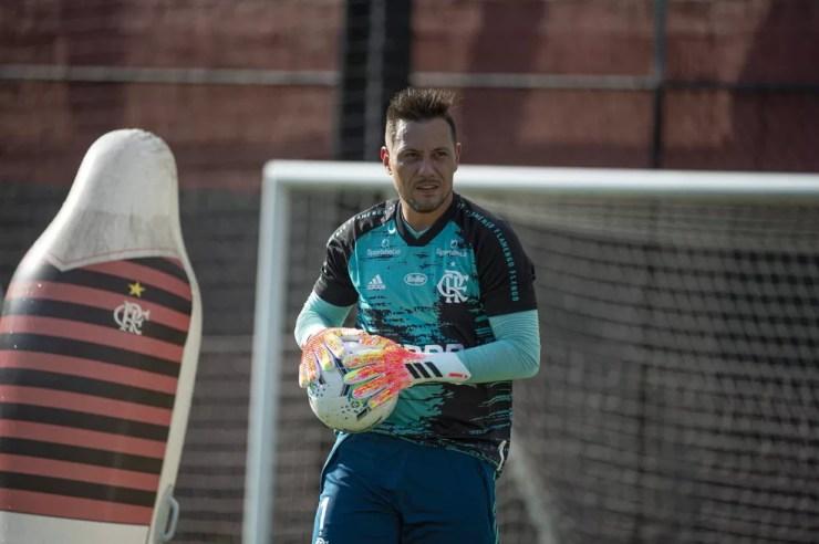 Diego Alves Flamengo — Foto: Alexandre Vidal Flamengo