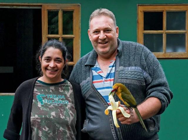Patrícia e Marco Antônio (Foto: José Eduardo Camargo)