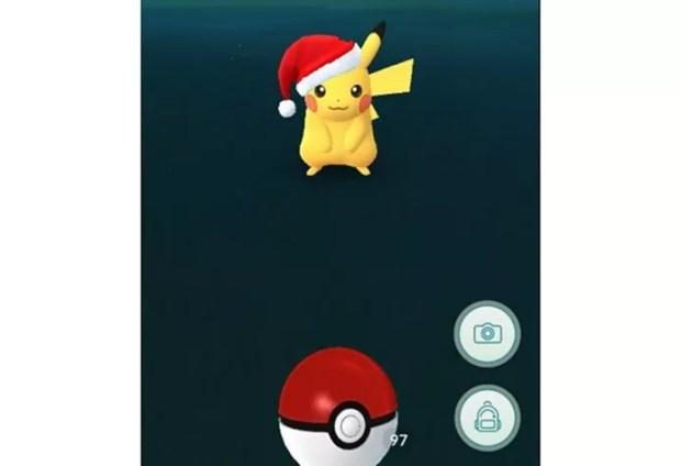 Nova versão do Pikachu é destaque do evento de Natal de Pokémon GO