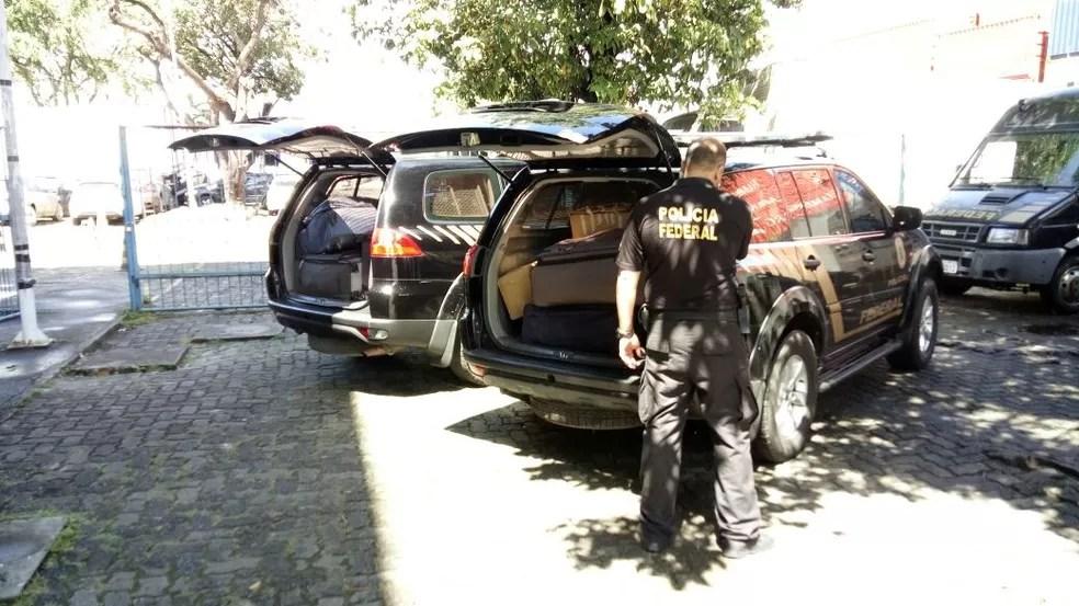 Operação da Polícia Federal encontrou dinheiro em Salvador (Foto: Polícia Federal/Divulgação)
