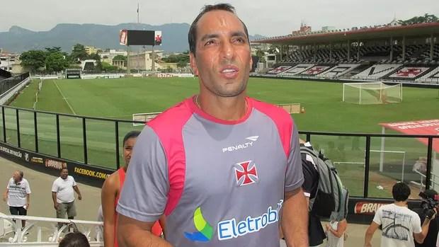 Edmundo São Januário Vasco (Foto: Gustavo Rotstein/Globoesporte.com)