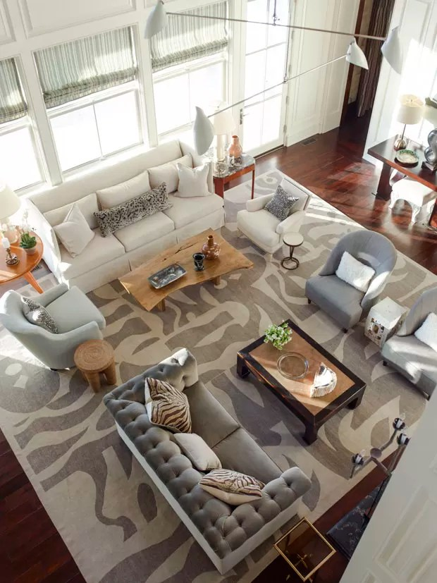 Family Room Furniture Arrangement