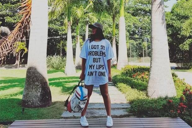 Anitta camiseta (Foto: Reproduo Instagram)