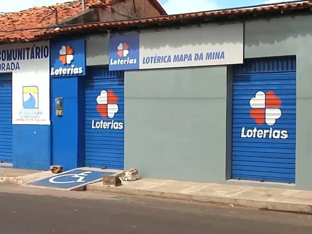 Economia em São luís Gonzaga do Maranhão está sendo atingida pela a falta de serviços após os últimos assaltos na cidade (Foto: Reprodução/TV Mirante)