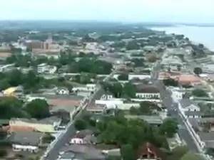 Cidade de Parintins está entre os municípios beneficiados (Foto: Reprodução/TV Amazonas)