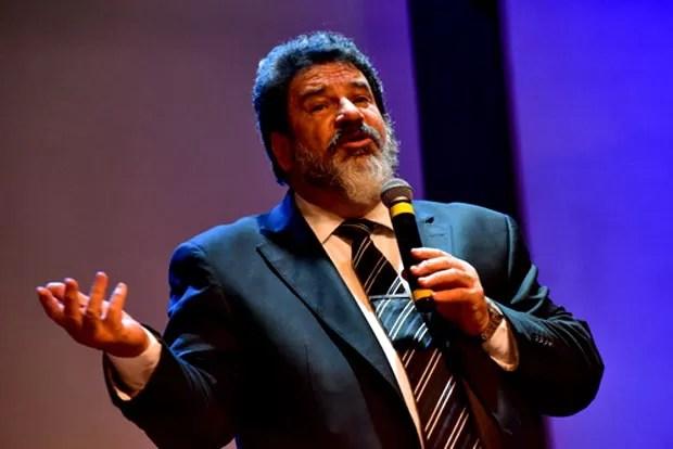 Palestra do professor Mario Sergio Cortella realizada em São José dos Campos em junho/2016 (Foto:  Lucas LACAZ RUIZ / A13 / Ag. O Globo)