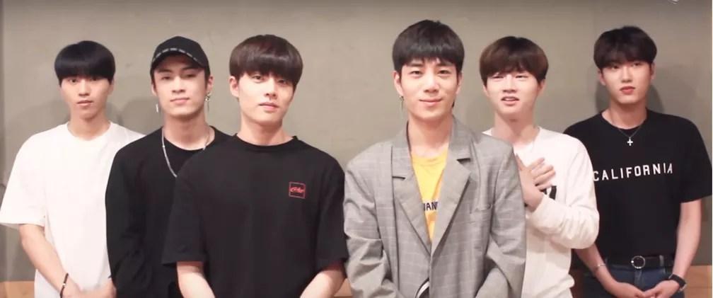 O grupo de k-pop Black6ix (Foto: Reprodução/YouTube)