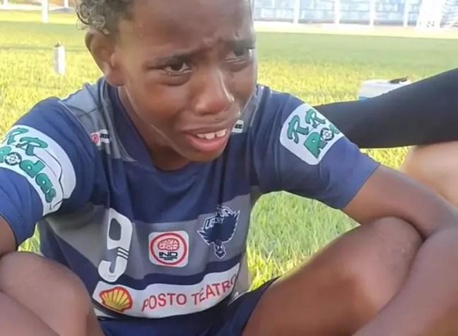 Luiz Eduardo Uberlândia Academy Caldas Cup Caldas Novas injúria racial — Foto: Reprodução