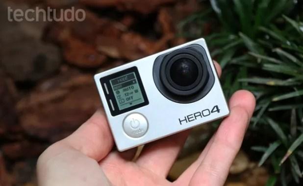 Siguiente GoPro llega al final del año bajo el nombre Hero5 (Foto: Luciana Maline / TechTudo)