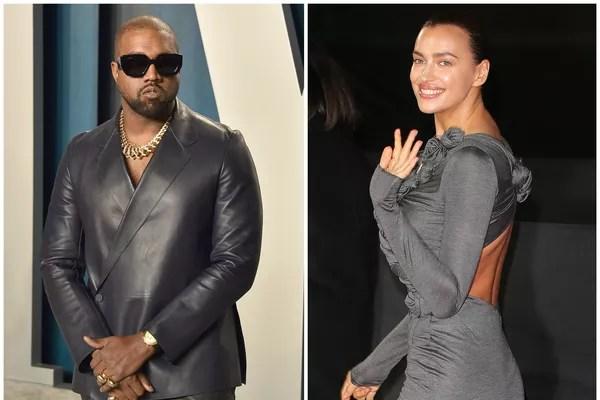 Rapper Kanye West and model Irina Shayk (Photo: Getty Images)