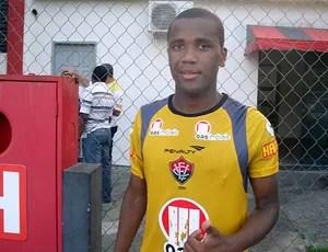 willie, meia do vitoria (Foto: Thiago Pereira/Globoesporte.com)