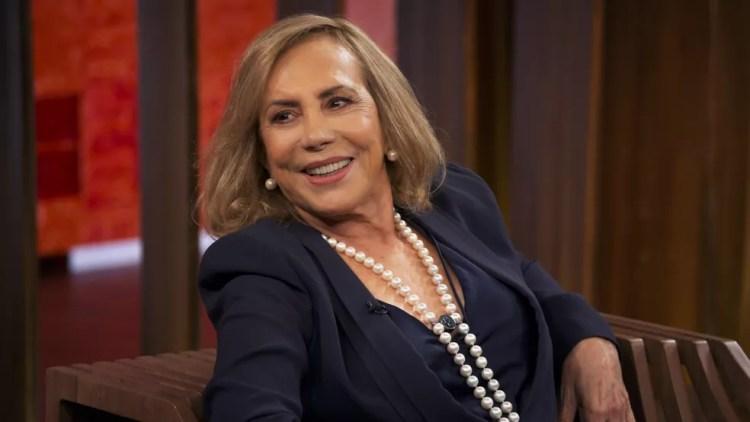 Arlete fala sobre começo de carreira. — Foto: Reprodução/TV Globo