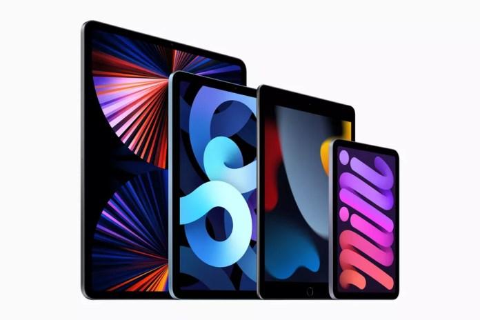 iPad tradicional ganha nona geração. Apple também tem novidades no iPad Mini (à dir) — Foto: Divulgação