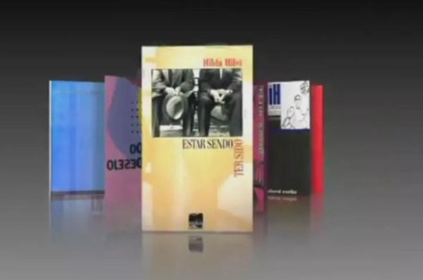 Obras de Hilda inspiraram a jornalista Tamires  (Foto: TV TEM / Reprodução )