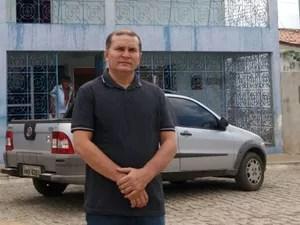 Walter Araújo é o atual prefeito de Lucrécia, cidade do interior potiguar (Foto: Fred Carvalho/G1)