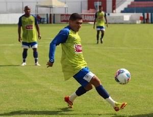Dico enfrentou pela primeira vez seu ex-time, o Tiradentes (Foto: Divulgação/Fortaleza)