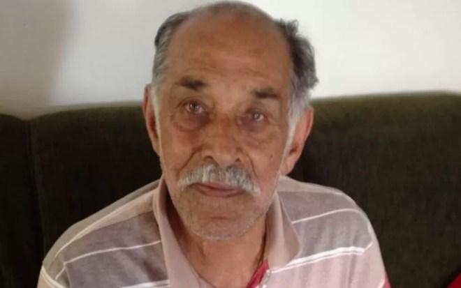 João Nunes, em foto atual, com 91 anos: cinco filhos, 11 netos e 14 bisnetos — Foto: Aquivo pessoal