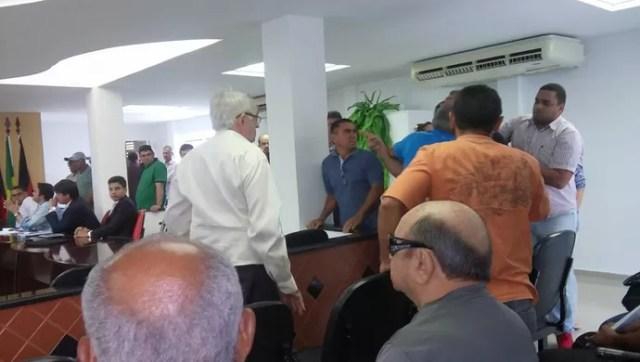 Assembleia da Federação Paraibana termina com briga entre dirigentes