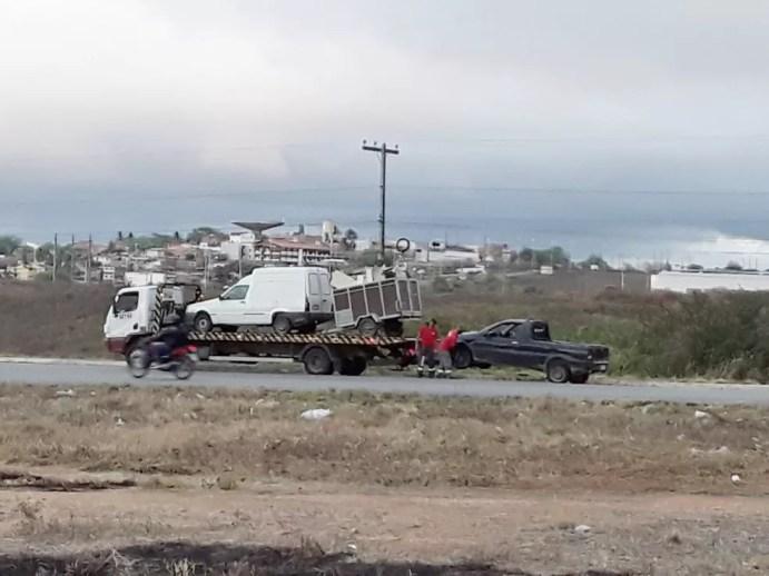 Foram abordados 130 veículos e recolhidos 33, durante operação da PRF. — Foto: Polícia Rodoviária Federal
