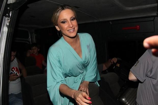 Claudia Leitte em Salvador (Foto: Gabriel Rangel/AgNews)