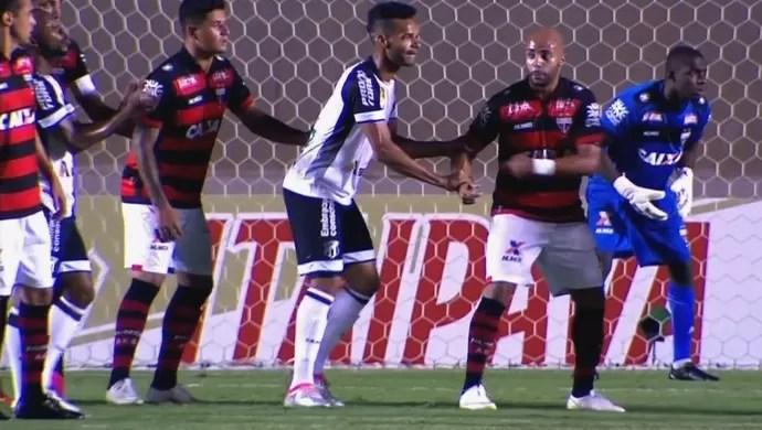 Atlético-GO x Ceará - Série B 2016 (Foto: Reprodução / PFC)