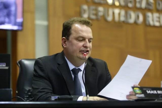 Deputado Max Russi (PSB) é o novo presidente da Assembleia Legislativa de Mato Grosso — Foto: ALMT