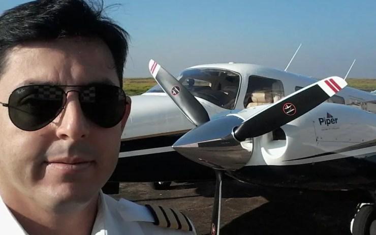 Empresário de Araçatuba, SP, morre na queda de aeronave em Mato Grosso do Sul  (Foto: Arquivo Pessoal)