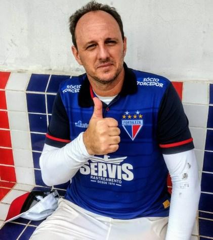 Rogério Ceni: feliz no Fortaleza (Foto: Vanessa Santilli)