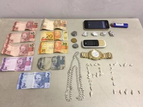 Droga foi apreendida pela Polícia Civil (Foto: Polícia Civil/Divulgação)