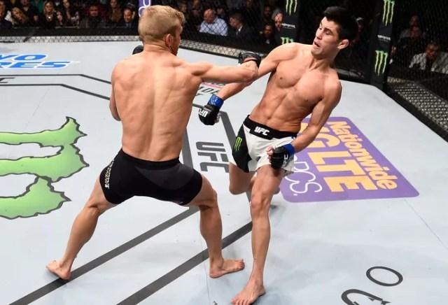 Dominick Cruz e TJ Dillashaw, UFC Boston (Foto: Getty Images )