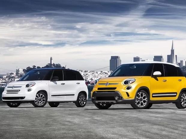 Fiat 500L e 500L Trekking (Foto: Fiat)