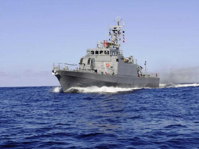 Navio Patrulha Guaratuba faz a segurança no litoral da Bahia e de Sergipe (Foto: Divulgação/Marinha/Arquivo)