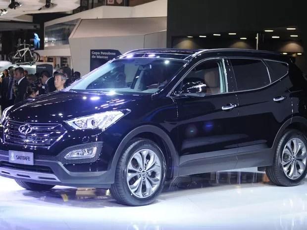 Hyundai Santa Fe (Foto: Raul Zito/G1)