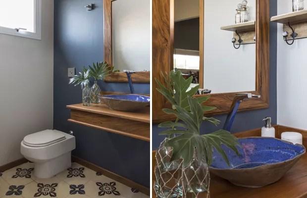 banheiro_ladrilho_hidráulico_azul (Foto: Evelyn Muller/Divulgação)