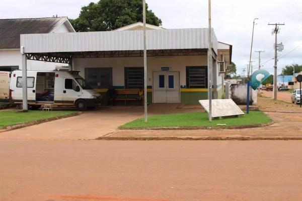 Hospital Regional de Guajará-Mirim não tem recursos suficientes para tantos atendimentos (Foto: Júnior Freitas/G1)