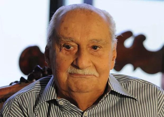O jornalista e escritor Carlos Heitor Cony, de 91 anos, tinha um câncer linfático  (Foto: Ana Paula Oliveira Migliari)