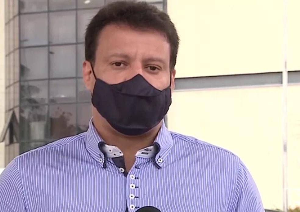 Felipe Camarão, secretário estadual de Educação do Maranhão, afirma que não haverá retomada das aulas neste ano. — Foto: Reprodução/TV Mirante