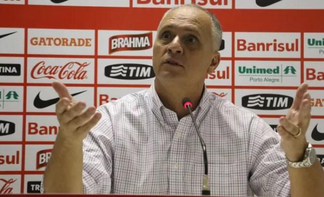 Marcelo Medeiros, dirigente do Inter (Foto: Eduardo Deconto/GloboEsporte.com)