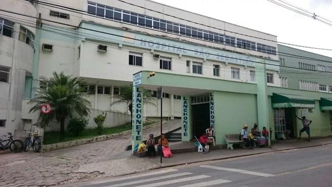 Hospital São Sebastião em Viçosa — Foto: Luiz Felipe Falcão/G1