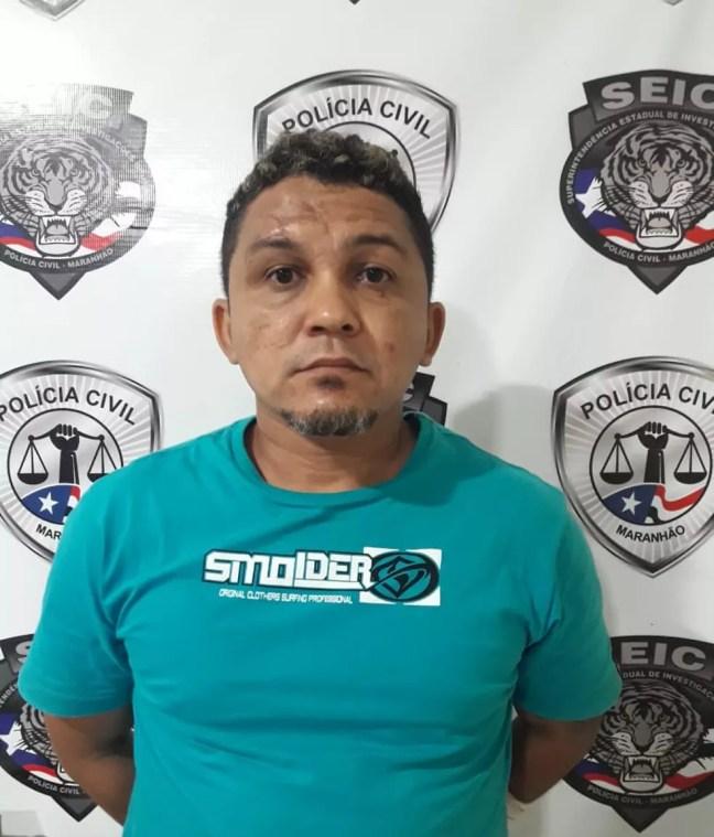 Wellington Sousa Santos, de 37 anos, possui uma extensa ficha criminal nos estados do Maranhão e Piauí. — Foto: Divulgação/Polícia Civil